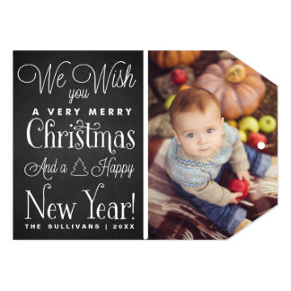 Merry Chirstmas & a Happy New Year Holiday Card