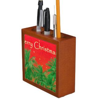 Merry Chirstmas Design Desk Organizer