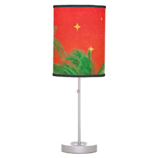 Merry Chirstmas Design Table Lamp