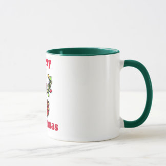 Merry Chrismas Reindeer in lights Mug