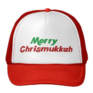 Merry Chrismukkah Trucker Hat