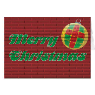 Merry Christmans Card