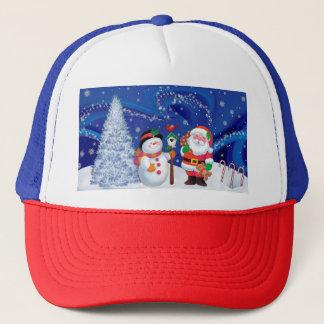 merry christmas15 trucker hat
