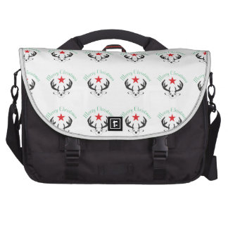 Merry Christmas 1.png Laptop Messenger Bag