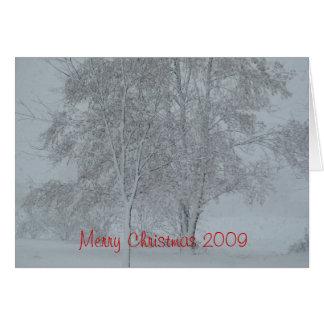Merry Christmas 2009 Card