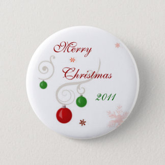 Merry Christmas 2011 2 Inch Round Button