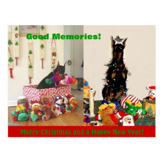 Merry Christmas 2011 Postcard