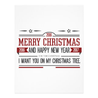Merry Christmas 2016 Letterhead Design