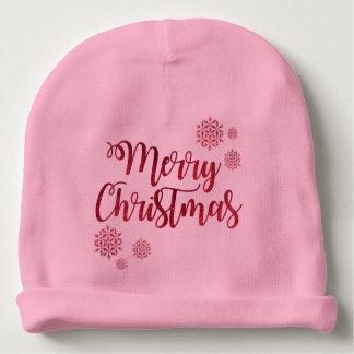 Merry Christmas 2 Baby Beanie