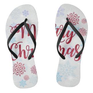 Merry Christmas 2 Flip Flops