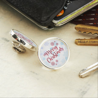 Merry Christmas 2 Lapel Pin