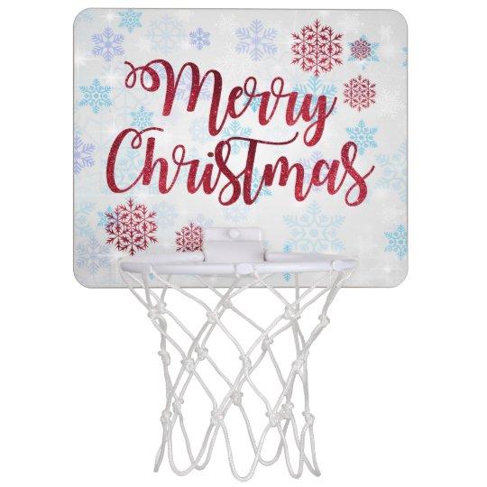 Merry Christmas 2 Mini Basketball Hoop