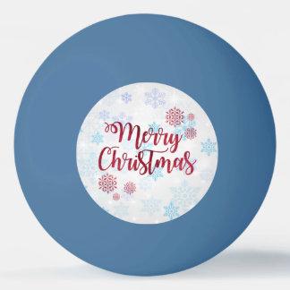 Merry Christmas 2 Ping Pong Ball