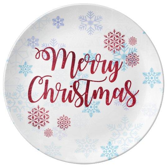Merry Christmas 2 Plate