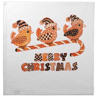 Merry Christmas 2 Printed Napkin