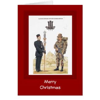 Merry Christmas, 2nd King Edward VII's own Gurkha Greeting Card