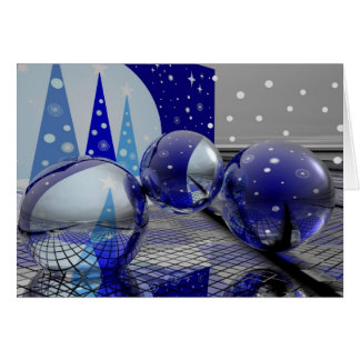 Merry christmas 3d card