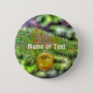 merry christmas 515 2 inch round button