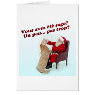Merry Christmas 6653 Greeting Card