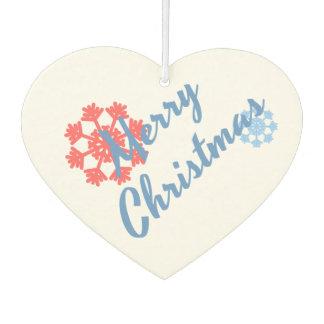 Merry Christmas Air Freshener
