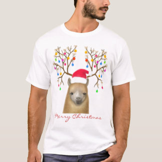 Merry Christmas Alpaca Shirt