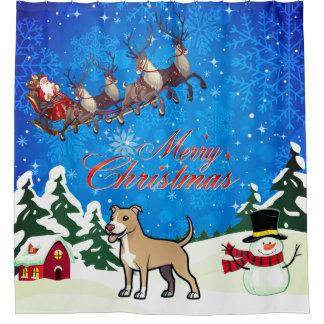 Merry Christmas American Pitbull Terrier