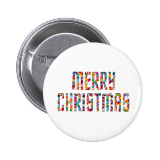 MERRY Christmas and a HAPPY NEW YEAR 2014 2 Inch Round Button