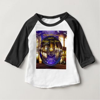 Merry Christmas and a Happy New Year Baby T-Shirt
