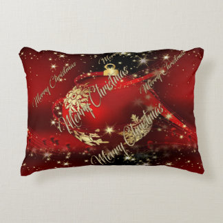 Merry Christmas and a Happy New Year Decorative Pillow