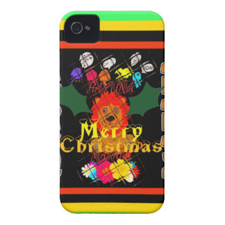 Merry Christmas and a Happy New Year iPhone 4 Covers