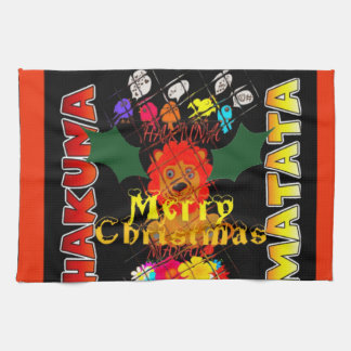 Merry Christmas and a Happy New Year Kitchen Towels