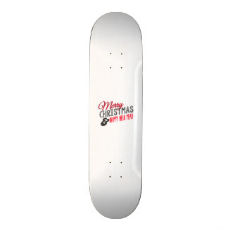 Merry Christmas and happy new to year Custom Skate Board