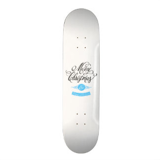 Merry Christmas and happy new to year Skate Board Decks