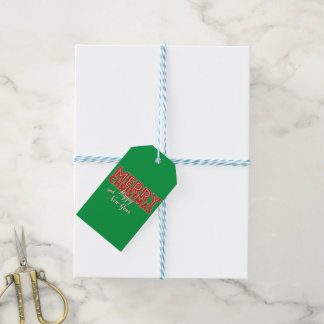 Merry Christmas and Happy New Year Gift Tags