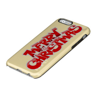 merry christmas and happy new year incipio feather® shine iPhone 6 case