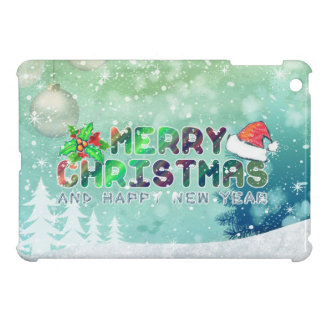 Merry Christmas and Happy New Year iPad Case