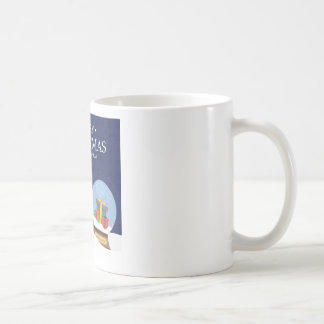 Merry Christmas and Happy New Year Snow Globe Coffee Mug