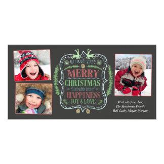 Merry Christmas and Joy Card