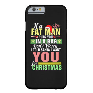 Merry Christmas and Santa Claus Barely There iPhone 6 Case