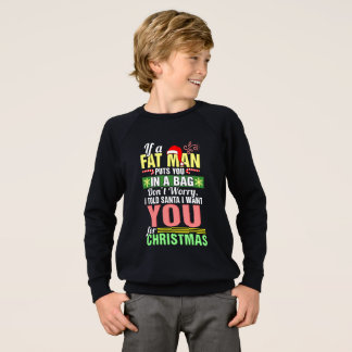 Merry Christmas and Santa Claus Sweatshirt