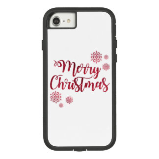 Merry Christmas Apple iPhone 8/7, Tough Phone Case