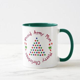 Merry Christmas (Army Mom) Mug
