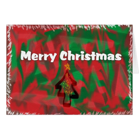 Merry Christmas Artisan Card