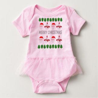 merry christmas baby bodysuit