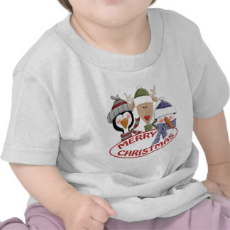 Merry Christmas Baby Clothes Tshirt