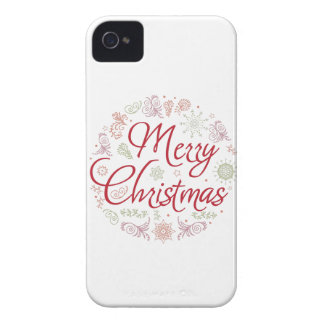 Merry Christmas ball iPhone 4 Cover