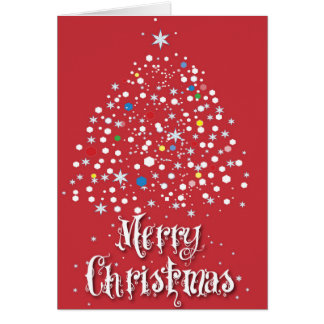 Merry Christmas Blank inside Card