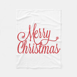 Merry Christmas blanket