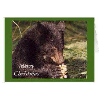 Merry Christmas - Booster Greeting Card