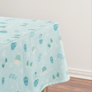 Merry Christmas bundles pattern - mono color Tablecloth